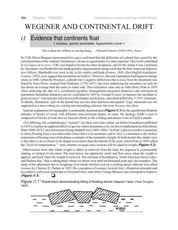 evidence for continental drift worksheet. Black Bedroom Furniture Sets. Home Design Ideas
