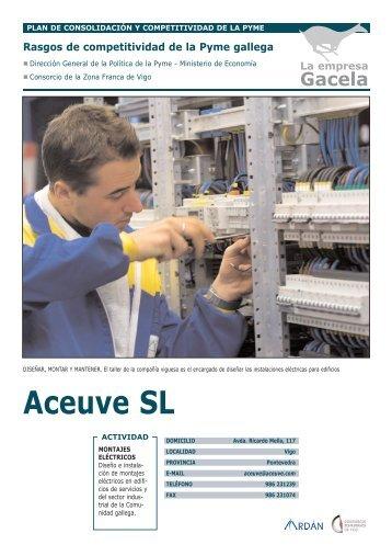 ACEUVE, S.L.U.: Empresa Gacela - Ardan
