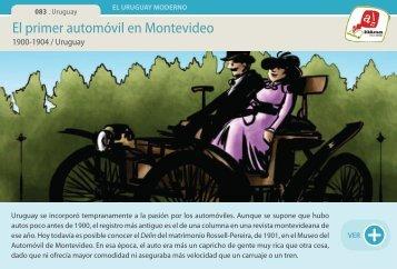 El primer automóvil en Montevideo - Manosanta