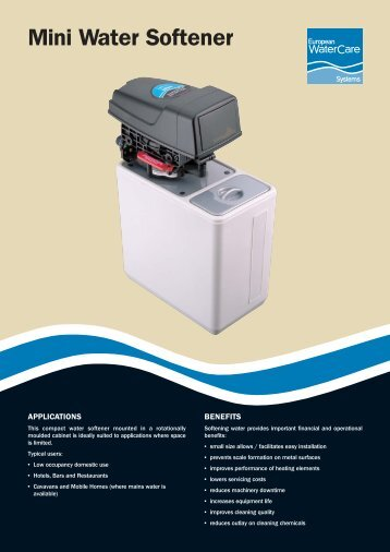 Mini Water Softener - CESA