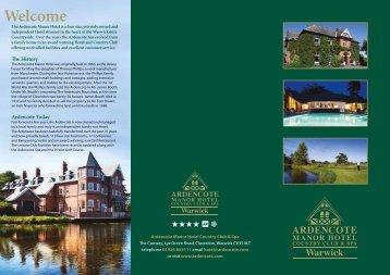 Warwick - Ardencote Manor Hotel and Country Club