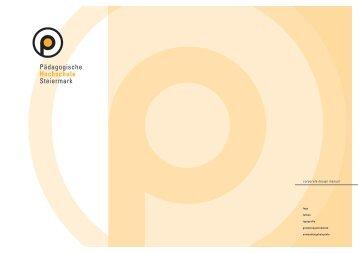 CD - Manual der PHSt - Pädagogische Hochschule Steiermark