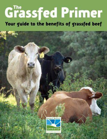 The Grassfed Primer - Animal Welfare Approved