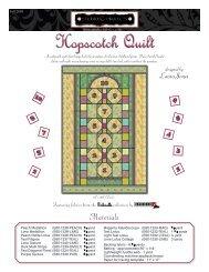 Hopscotch Quilt - KMK Fabrics
