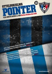 Pointer 13/09 - FC Inter