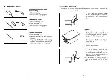 Operating Instructions - Mettler Toledo
