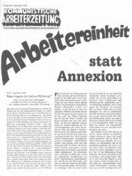 statt Annexion - Arbeiterbund für den Wiederaufbau der KPD