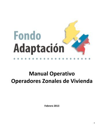 Manual Operativo - Fondo Adaptación