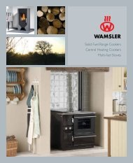 Solid Fuel Range Cookers Central Heating Cookers Multi-fuel Stoves