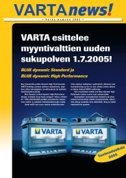 SF news 2_05.indd - VARTA Automotive PartnerNet