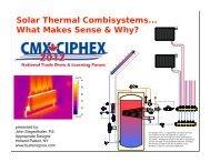 CMX/CIPHEX solar combisystems (2)