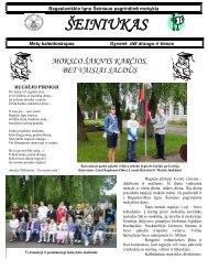 2008-05,Nr.45 - Bagaslaviškio Igno Šeiniaus pagrindinė mokykla