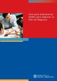 Guia para empresarios PyMES para elaborar un Plan de Negocios ...