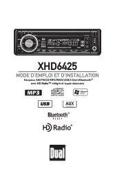 XHD6425 - Dual Electronics