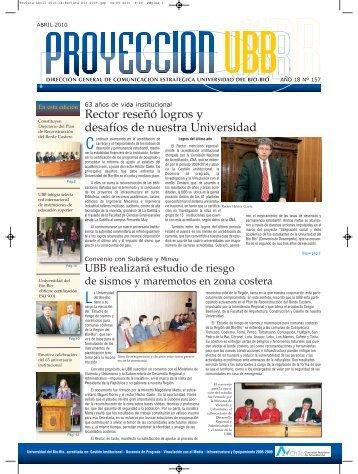 Revista Abril 2010-ok:Revista Dic-2009.qxp.qxd - Universidad del ...