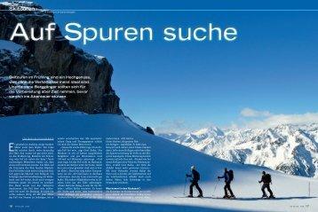 Skitouren Anfaenger - Fit for Life