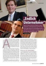 """""""Endlich Unternehmer"""" - Arnold Ruess"""