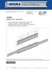 HGT80 - Hegra Linear GmbH