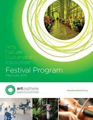 Festival Program - Artosphere Festival