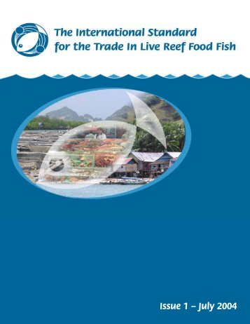 The International Standard for the Trade in Live Reef Food Fish PDF ...