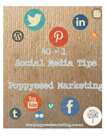 40+1-social-media-tips
