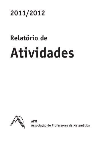 Atividades - Associação de Professores de Matemática