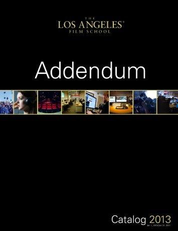 Addendum - Media Server Page
