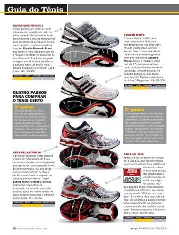 2a04012bcb Guia do Tênis - Revista Contra-Relógio