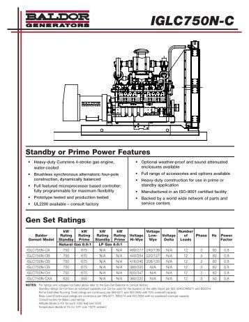 IGLC750N-C - Phase-A-Matic, Inc.