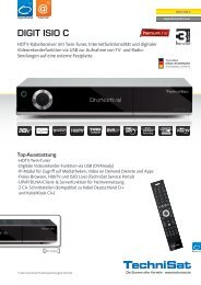 Datenblatt Technisat DIGIT ISIO C - RFT kabel