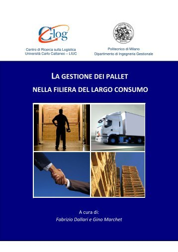 la gestione dei pallet nella filiera del largo consumo - Università ...