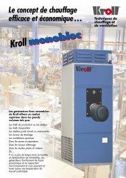 monobloc Kroll monobloc - Kroll GmbH
