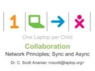One Laptop per Child - C. Scott Ananian