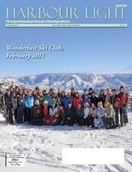Wanderlust Ski Club, February 2011 - Harbour Light Magazine