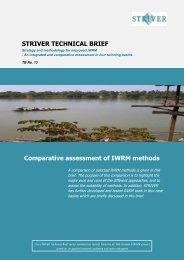 Striver policy brief - Niva
