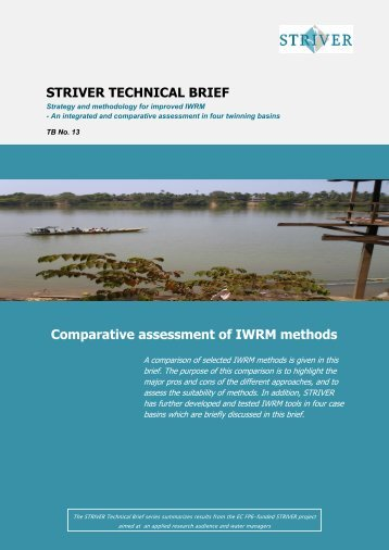 Striver policy brief - Niva