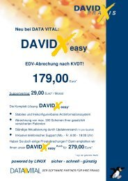 schnell - günstig DAVID easy - Data Vital