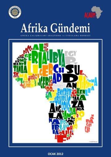 Afrika Gündemi OCAK 2012