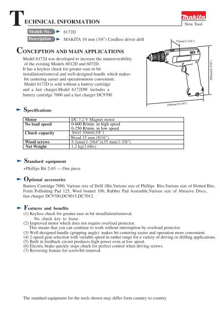 view service manual (pdf format 141 kb) - tool parts direct . com  yumpu