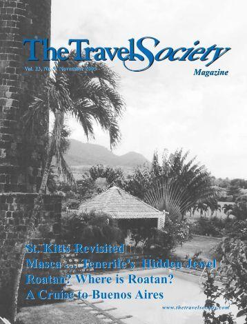 Vol. 23 No. 9 - The Travel Society