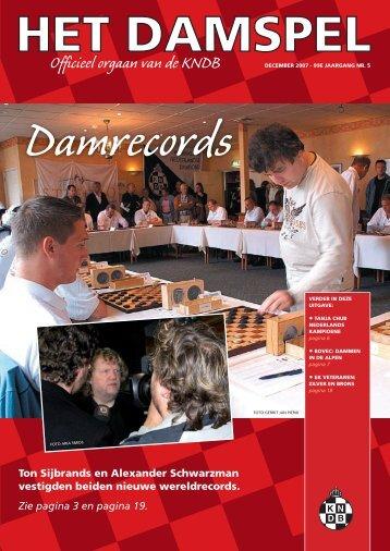 HD 0705 - Het Damspel - Kndb