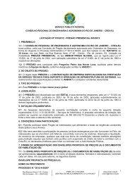 SERVIÇO PARA SUPORTE E OPERAÇÃO DE INFR… - CREA-RJ