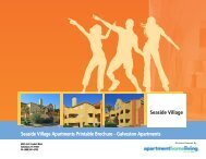 Seaside Village Apartments Printable Brochure - Apartments For Rent