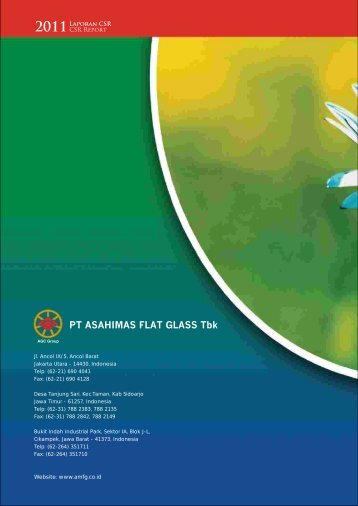 CSR'11 updated.pdf - Asahimas Flat Glass Tbk, PT.