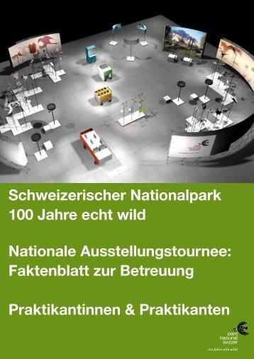 Praktikanten - Schweizerischer Nationalpark