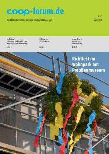 Ausgabe 25 - co op Minden-Stadthagen eg