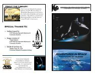 Space Tourism Brochure - UCF Library - University of Central Florida