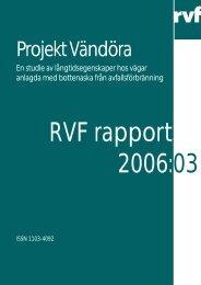 2006:03 Projekt Vändöra: En studie av ... - Avfall Sverige