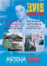 Elvis 2010 brochure - Arena Travel