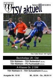 TSV aktuell Nr. 15 2013/14